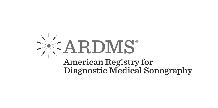 ARDMS American Registry for Medical Sonography.