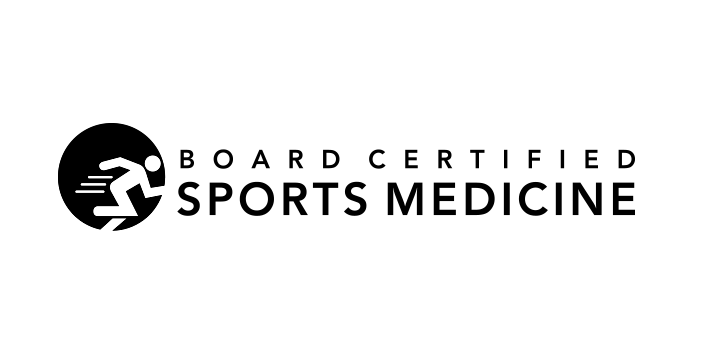 Board Certified in Sports Medicine Logo