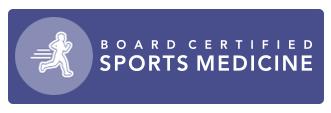 Board Certified Sports Medicine